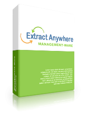 Extract Anywhere - Data Scraper script builder software